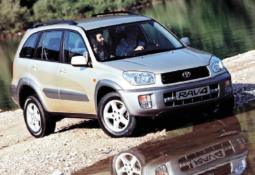 Toyota RAV4 II kombi silver grey przedni prawy