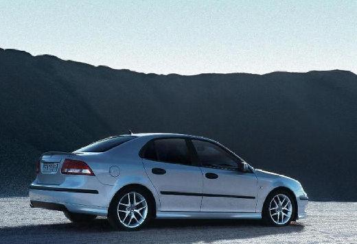 SAAB 9-3 Sport I sedan silver grey tylny prawy