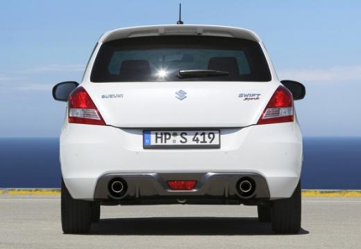 SUZUKI Swift II hatchback biały tylny