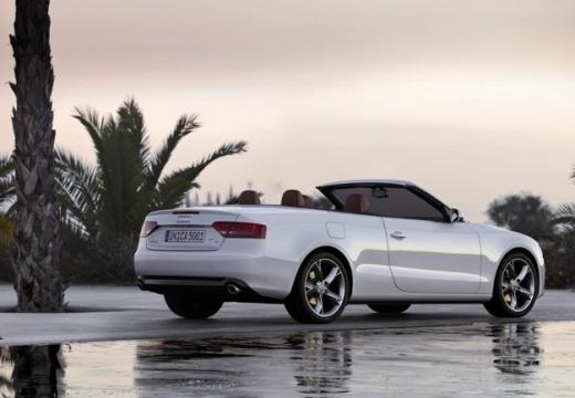 AUDI A5 Cabriolet I kabriolet biały tylny prawy