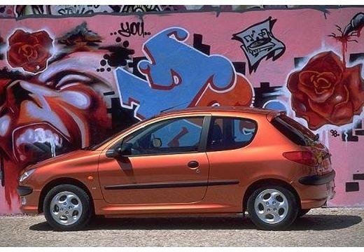 PEUGEOT 206 II hatchback boczny lewy