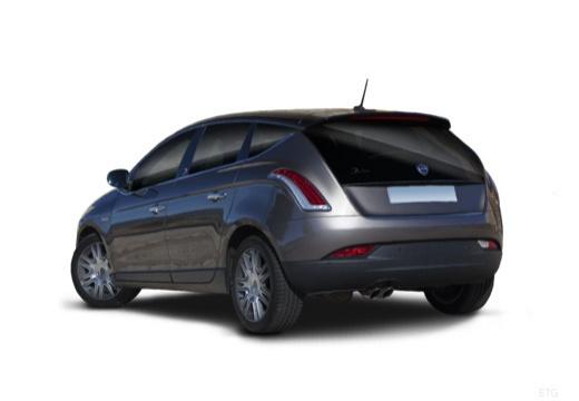LANCIA Delta III hatchback szary ciemny tylny lewy