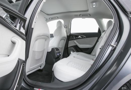 AUDI A6 Avant C7 II kombi wnętrze