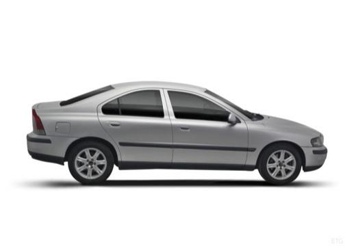 VOLVO S60 I sedan boczny prawy
