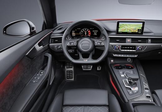 AUDI A5 Cabriolet III kabriolet tablica rozdzielcza