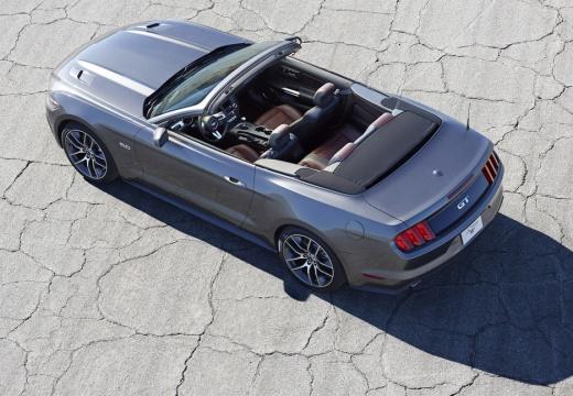 FORD Mustang kabriolet szary ciemny górny tylny