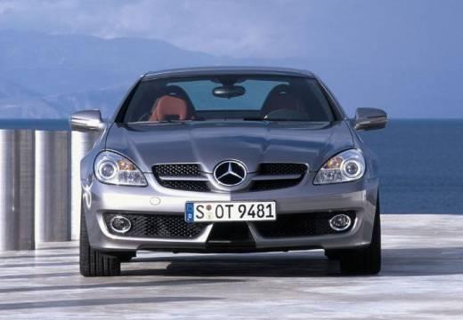 MERCEDES-BENZ Klasa SLK roadster szary ciemny przedni