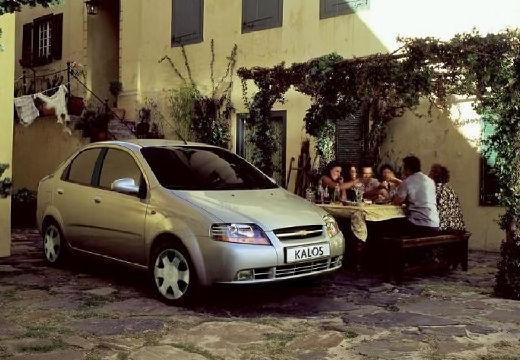 CHEVROLET Aveo 1.4 S / Direct swo Sedan I 83KM (benzyna)