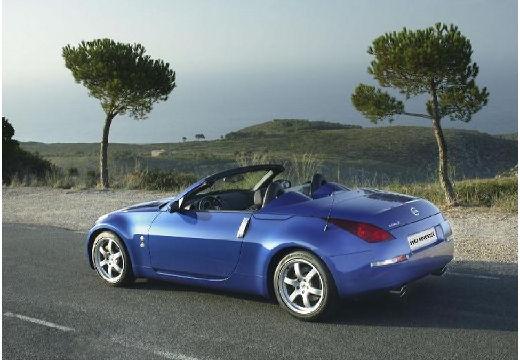 NISSAN 350 Z roadster niebieski jasny tylny lewy