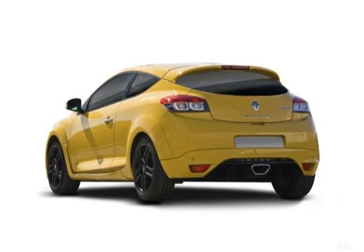 RENAULT Megane III Coupe I hatchback żółty tylny lewy