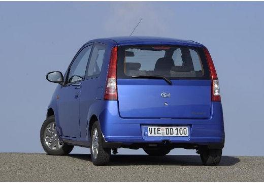 DAIHATSU Cuore VI hatchback niebieski jasny tylny lewy