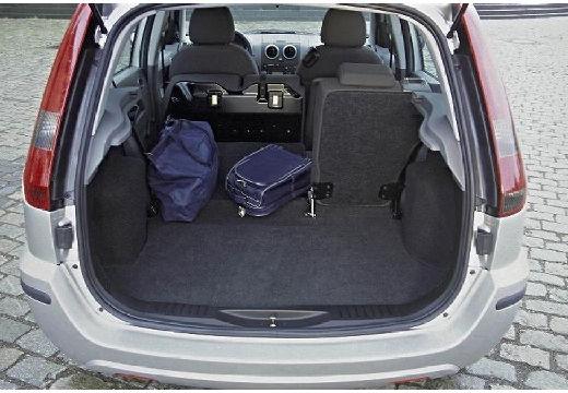 FORD Fusion I hatchback silver grey przestrzeń załadunkowa