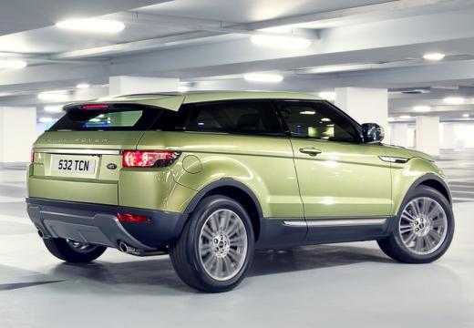 LAND ROVER Range Rover Evoque I kombi zielony tylny prawy