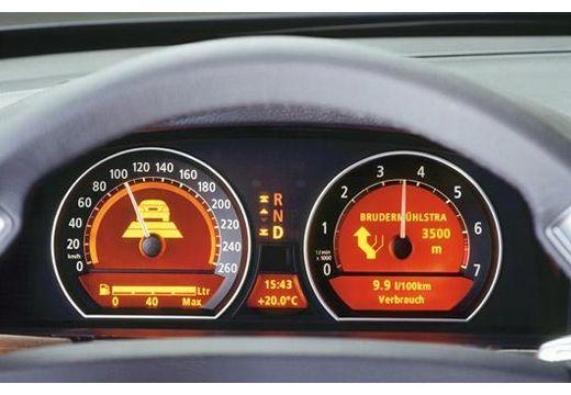 BMW Seria 7 E65 E66 I sedan tablica rozdzielcza