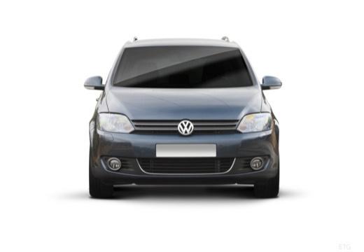 VOLKSWAGEN Golf VI Plus hatchback szary ciemny przedni