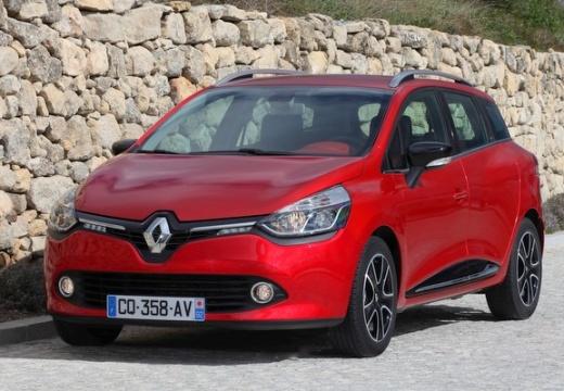 RENAULT Clio kombi czerwony jasny przedni lewy