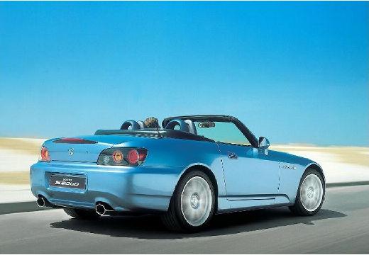 HONDA S 2000 I roadster niebieski jasny tylny prawy