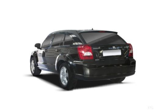DODGE Caliber II hatchback czarny tylny lewy