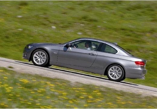 BMW Seria 3 E92 I coupe silver grey boczny lewy