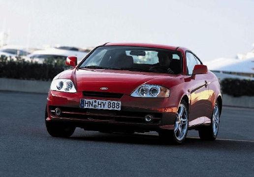 HYUNDAI Coupe III coupe czerwony jasny przedni lewy