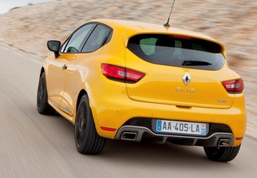 RENAULT Clio IV I hatchback żółty tylny lewy