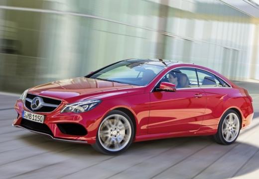 MERCEDES-BENZ Klasa E C 207 II coupe czerwony jasny przedni lewy