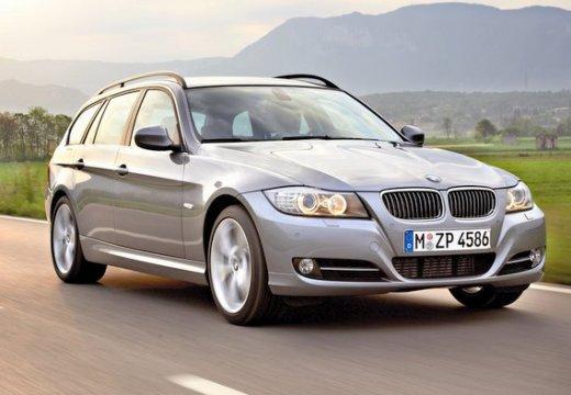 BMW Seria 3 kombi szary ciemny przedni prawy