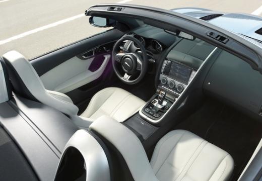 JAGUAR F-Type kabriolet wnętrze