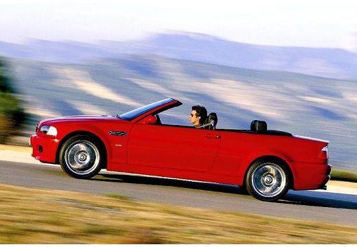 BMW Seria 3 kabriolet czerwony jasny boczny lewy
