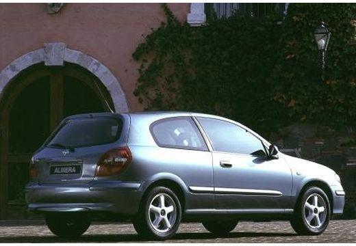 NISSAN Almera hatchback silver grey przedni prawy