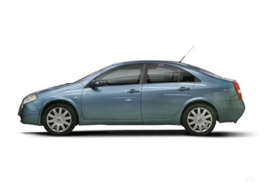 NISSAN Primera IV sedan boczny lewy