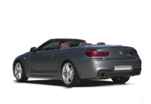 BMW Seria 6 Cabriolet F12 II kabriolet tylny lewy