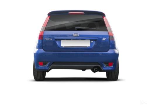 FORD Fiesta VI hatchback tylny