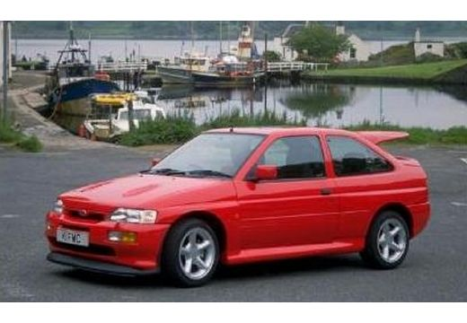 FORD Escort hatchback czerwony jasny przedni lewy