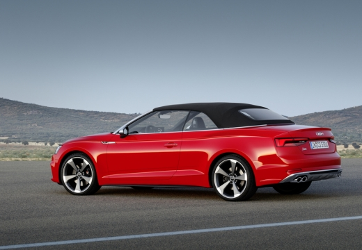 AUDI A5 Cabriolet III kabriolet czerwony jasny tylny lewy