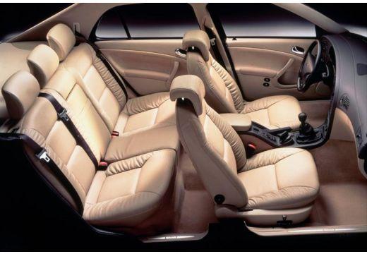 SAAB 9-5 sedan wnętrze