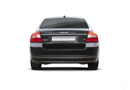 VOLVO S80 III sedan czarny tylny