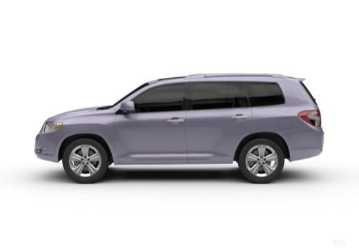 Toyota Highlander kombi boczny lewy