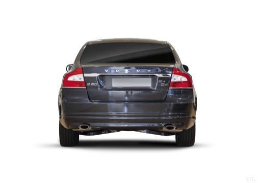 VOLVO S80 V sedan brązowy tylny