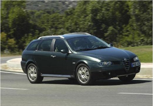 ALFA ROMEO 156 Crosswagon Q4 kombi zielony przedni prawy