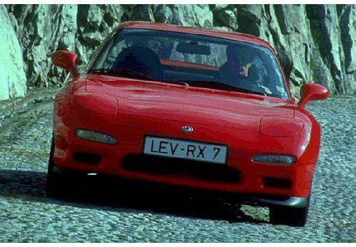MAZDA RX-7 coupe czerwony jasny przedni