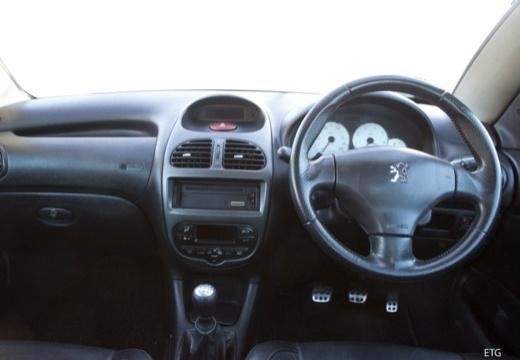 PEUGEOT 206 CC I kabriolet tablica rozdzielcza
