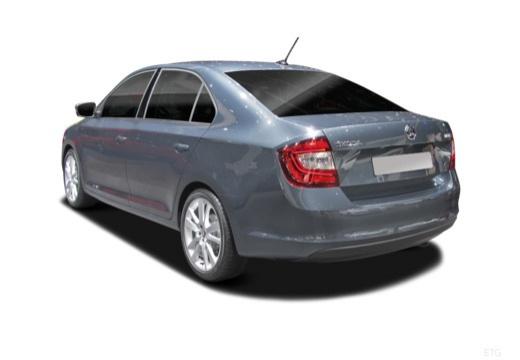 SKODA Rapid Liftback hatchback tylny lewy