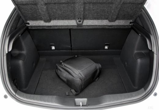 HONDA Civic IX hatchback przestrzeń załadunkowa