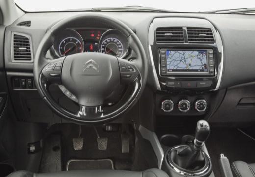 CITROEN C4 Aircross hatchback brązowy tablica rozdzielcza