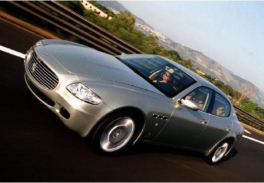 MASERATI Quattroporte II sedan silver grey przedni lewy