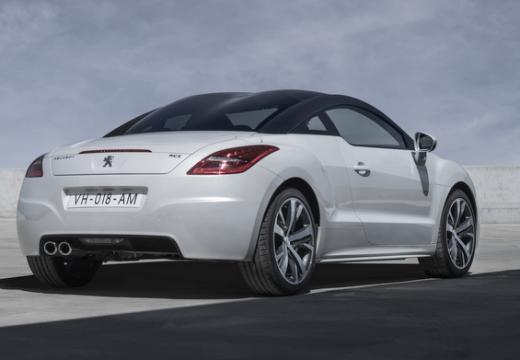 PEUGEOT RCZ coupe biały tylny prawy