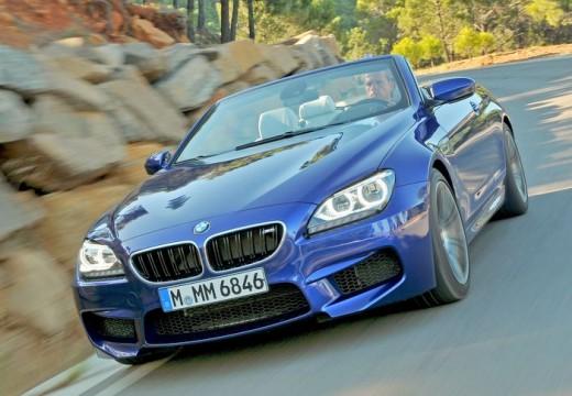 BMW Seria 6 Cabriolet F12 I kabriolet niebieski jasny przedni lewy