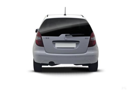 MERCEDES-BENZ Klasa A W 169 II hatchback tylny