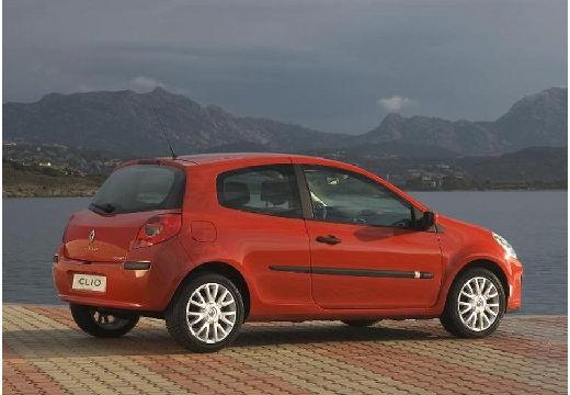 RENAULT Clio III I hatchback czerwony jasny tylny prawy